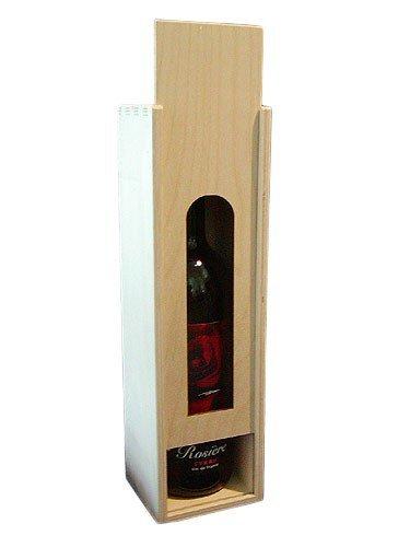 Dřevěná krabička na víno 93600
