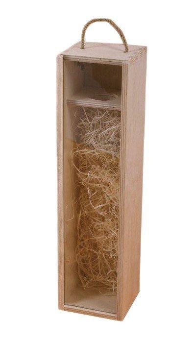 Dřevěná krabička na víno 93701