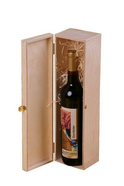 Dřevěná krabička na víno 912100