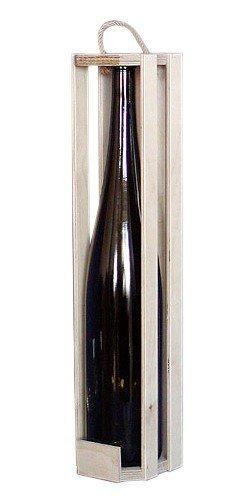Dřevěný nosič na víno 910001