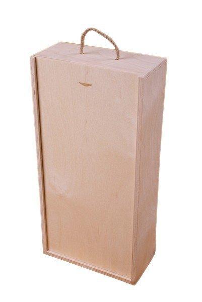 Dřevěná krabička na víno 95300