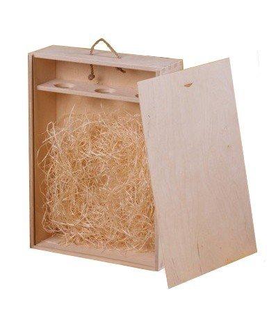 Dřevěná krabička na víno 97300
