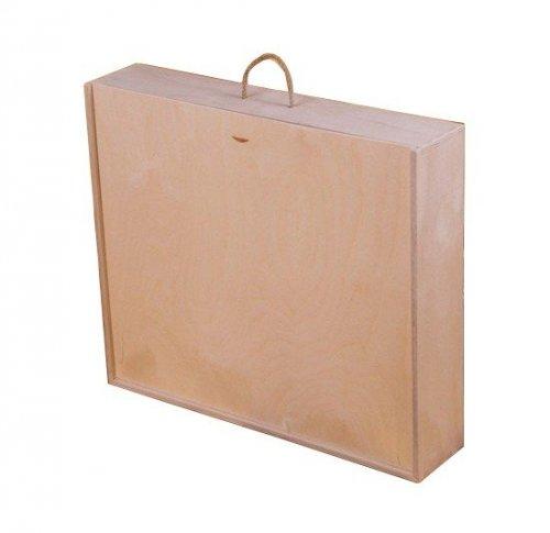 Dřevěná krabička na víno 98500