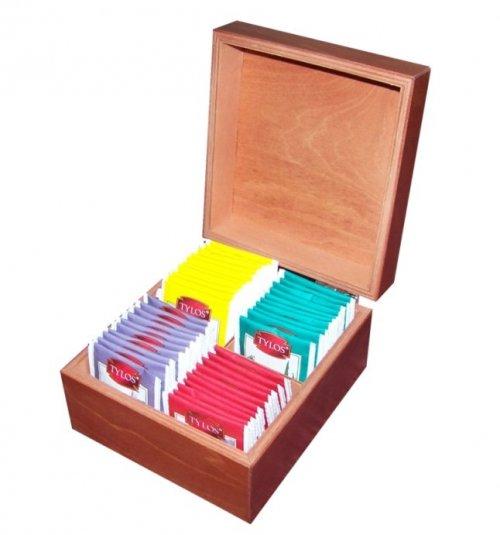 Dřevěná krabička na čaj 511