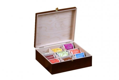 Dřevěná krabička na čaj 913109