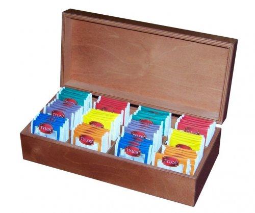 Dřevěná krabička na čaj 509