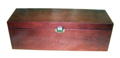 Luxusní dřevěná kazeta na víno 915120