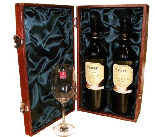 Luxusní dárková kazeta na víno 915122